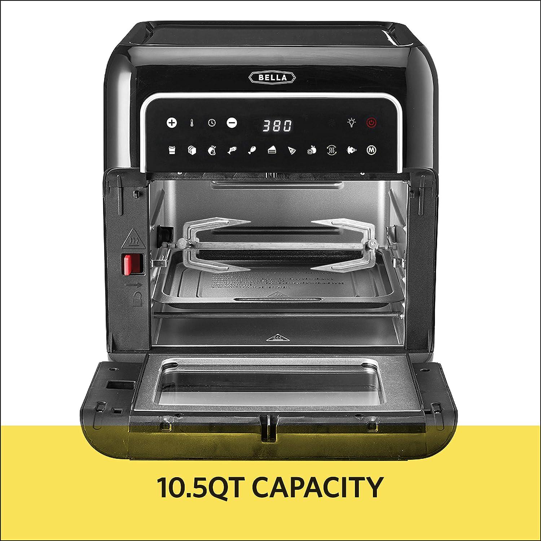 Dehydrators BELLA 14754 10 Liter Air Convection Fryer Oven ...