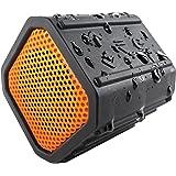 ECOXGEAR Ecopebble Rugged and Waterproof Wireless Bluetooth Speaker - Retail Packaging - Orange