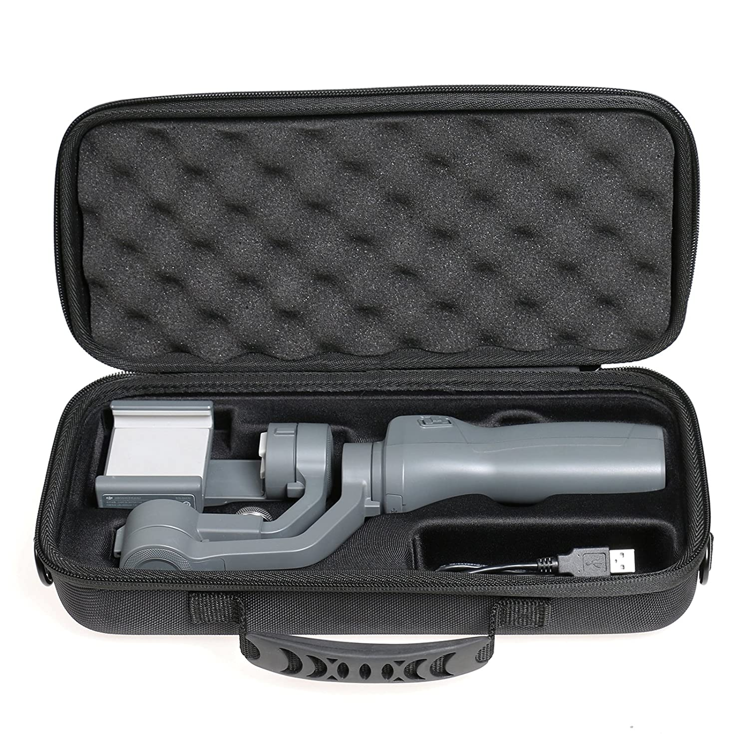 XBERSTAR Handhold Gimbal Hard EVA Case Portable Travel on The Go Carrying Bag Storage Protector Cover for DJI OSMO Mobile 2