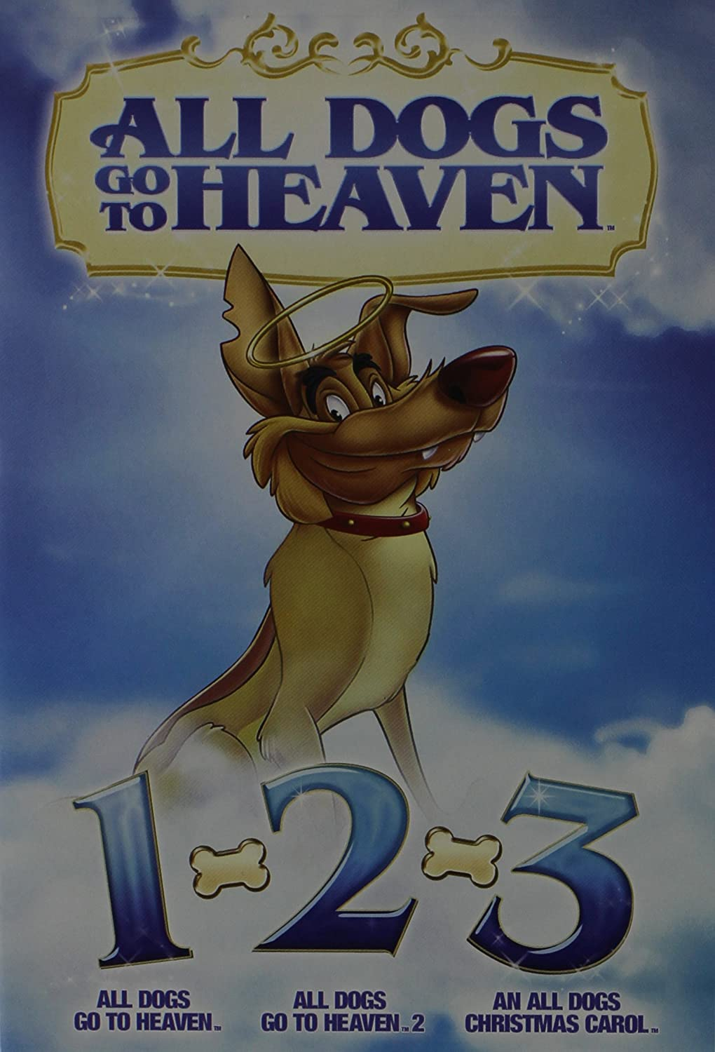 Amazon.com: All Dogs Go to Heaven 1, 2 & An All Dogs Christmas ...