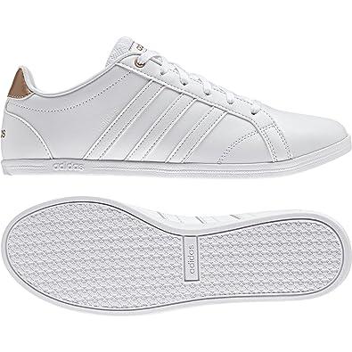 new styles 0102f f7cca adidas Coneo Qt W - Sneaker Basses - Femme - Blanc Cassé (Ftwblaftwbla