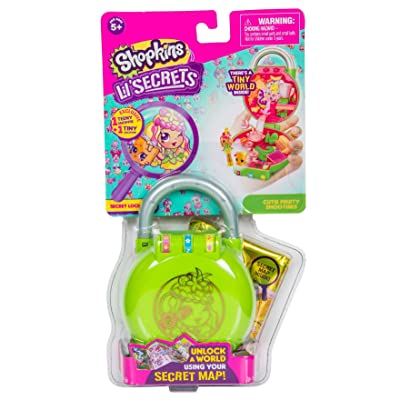 Shopkins Lil' Secrets Shop 'n' Lock Cutie Fruity Smoothies: Toys & Games
