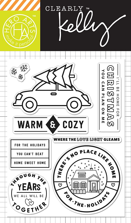 Hero Arts CL996 Kelly's Warm & Cozy Card Making Kit