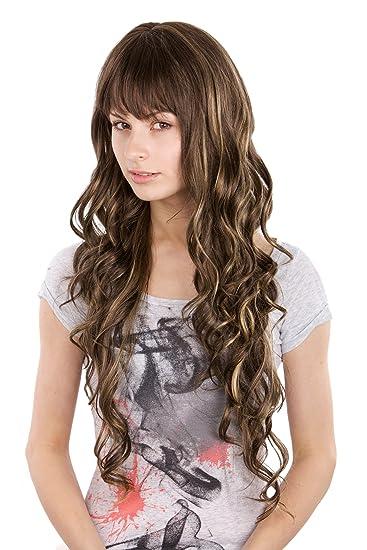 Haare braun farben mit blonden strahnchen