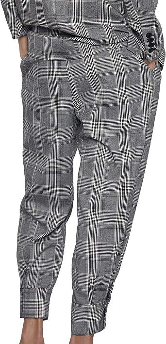 Zara 9929/229 - Pantalón para Mujer Gris Gris M: Amazon.es ...