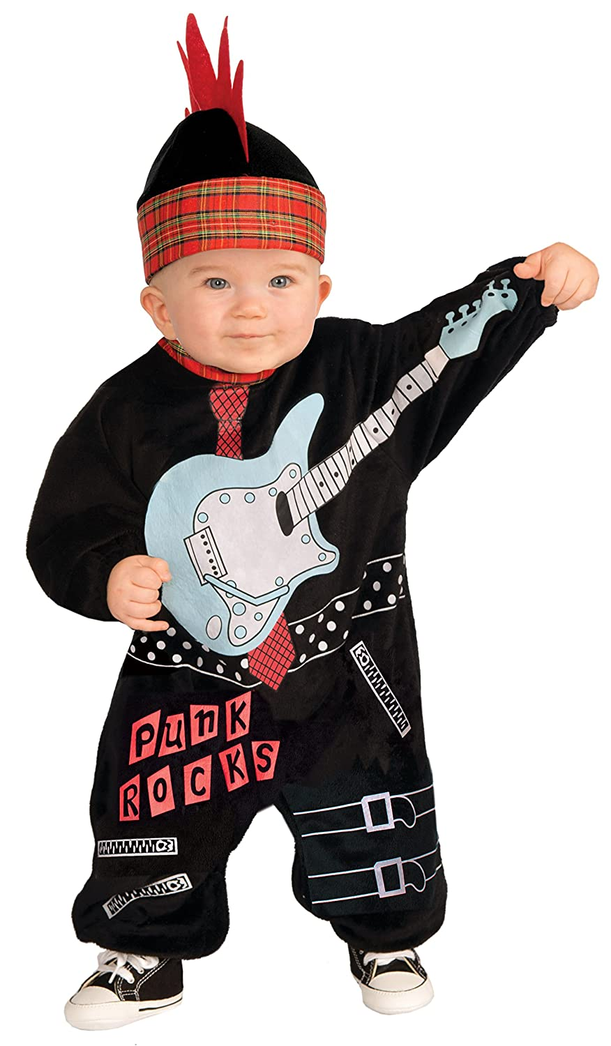 Amazon.com Forum Novelties Baby Boyu0027s Lil Rock Star Punk Baby Boy Costume Multi Infant Clothing  sc 1 st  Amazon.com & Amazon.com: Forum Novelties Baby Boyu0027s Lil Rock Star Punk Baby Boy ...