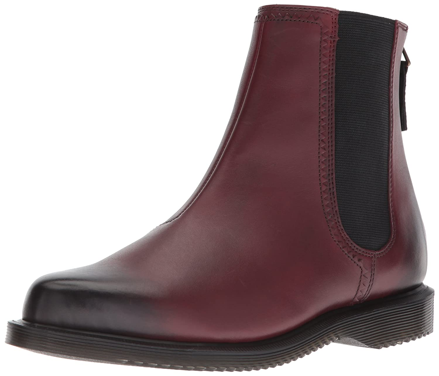 Dr. Martens Womens Zillow B071GNG6ZY 5 M UK|Cherry Red Antique Temperley