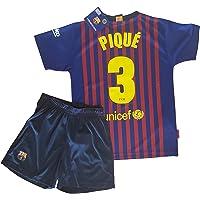 Conjunto Camiseta y Pantalon 1ª Equipación 2018-2019 FC. Barcelona -  Réplica Oficial Licenciado 87169a51684ec