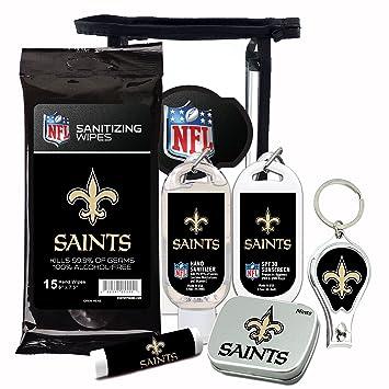 Amazon Com New Orleans Saints 6 Piece Fan Kit With Decorative Mint