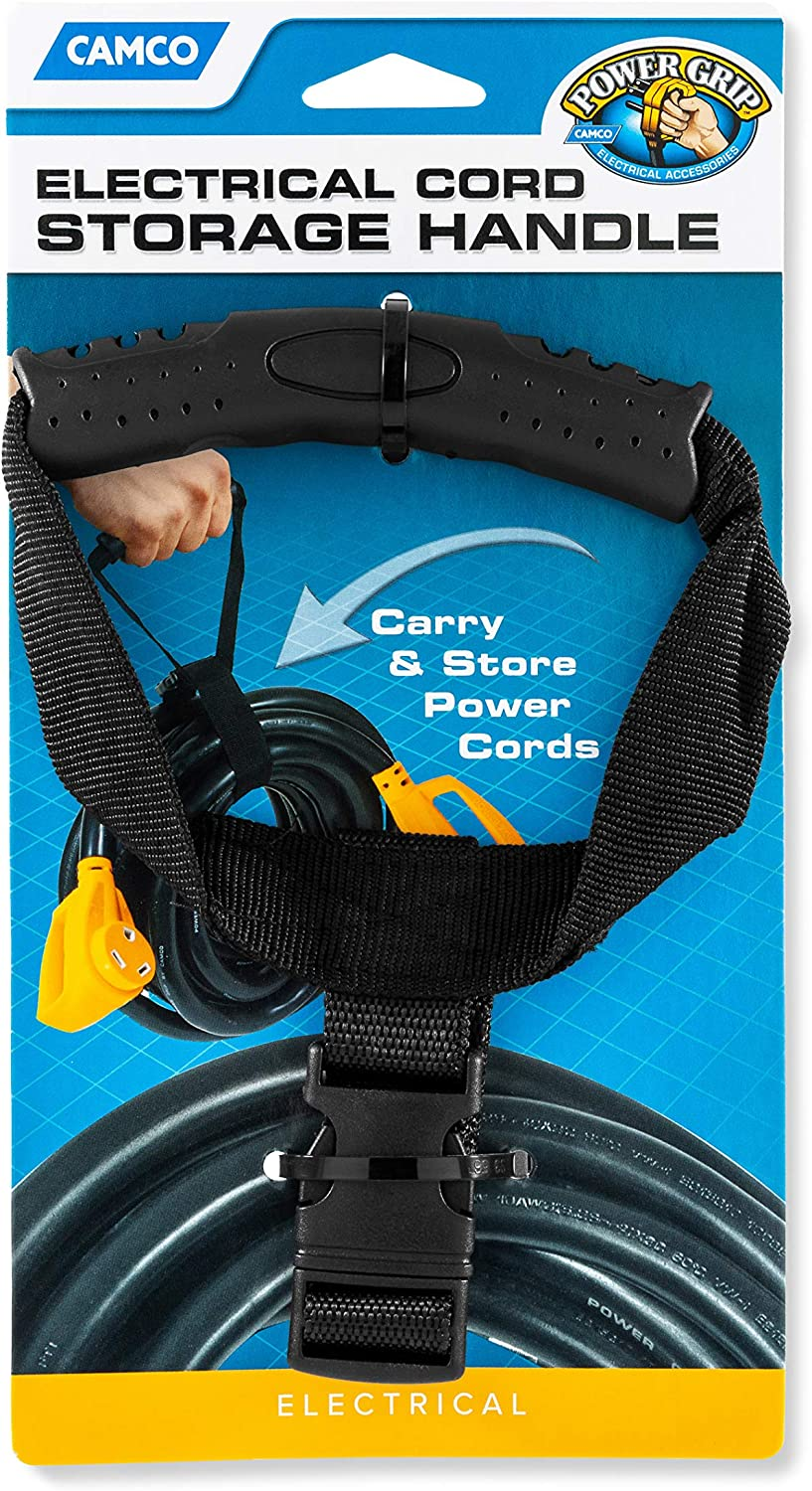 Easily Carry and Hang Hoses 20165 Cords or Ropes and Keep Them Organized While in Storage Camco Hose and Cord Carry Strap