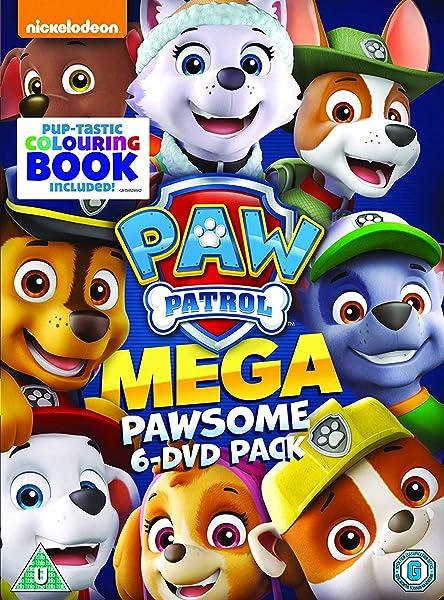 Paw Patrol - 6 Title Boxset 6 Dvd Edizione: Regno Unito Italia: Amazon.es: Cine y Series TV