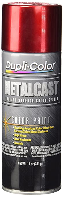 Amazon.com: Dupli-Color MC200 Red Metal Cast Anodized Color - 11 ...
