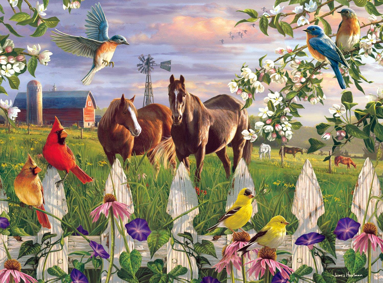 Buffalo Games - Hautman Brothers - Evening Meadow - 1000 Piece Jigsaw Puzzle