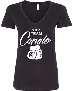 eb95e410 USA Threadz Canelo Saul Alvarez Aztec Logo Grey T-Shirt for Men ...