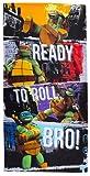 Character World Teenage Mutant Ninja Turtles Grunge Towel