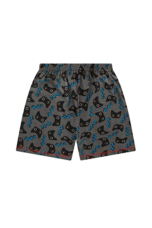 Amazon.com: The Pyjama factory Boys Eat Sleep Game Repeat Controller Short Pajamas 10 to 15 Years AOP: Clothing