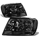 Jeep Grand Cherokee Headlight Lamps Kit (Smoke Lens) - WJ