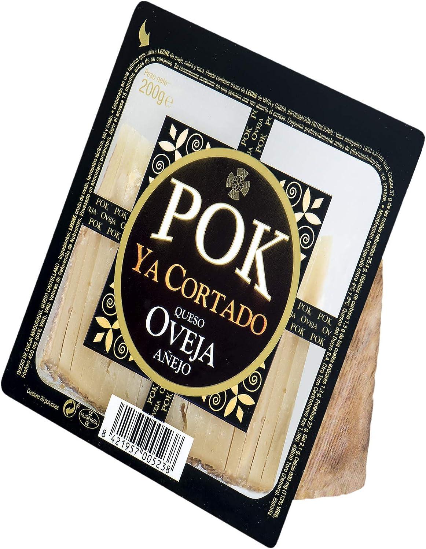 García Baquero - Pok queso de oveja añejo ya cortado cuña 200 g: Amazon.es: Alimentación y bebidas