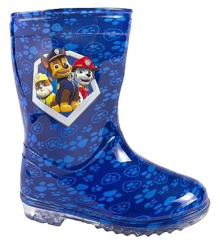 fc46245bd9 Boys Girls Official Paw Patrol Wellies Wellington Boots