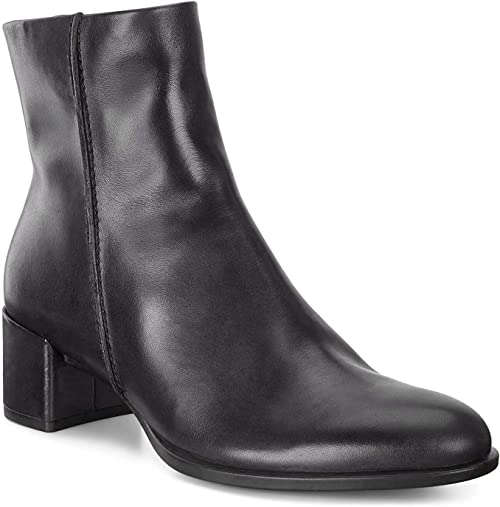 ECCO Damen Shape 35 Block Ankle Boot Stiefeletten: