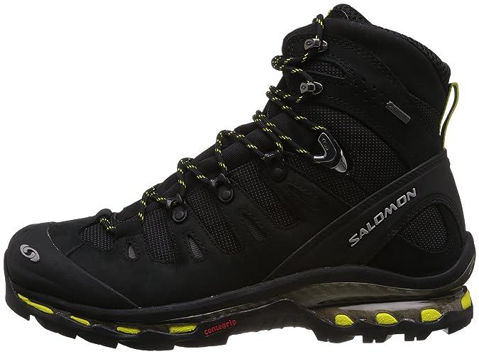 Zapatillas de trekking Salomon Quest 4D GTX gris/negro para hombre Talla 46 2/3 2014: Amazon.es: Zapatos y complementos