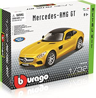 Lovely Bburago 1:24 Renault Megane Trophy Yellow Assembly Diy Racing Diecast Model Kit Kits Car Toy New In Box Free Shipping 25097 Model Building Kits