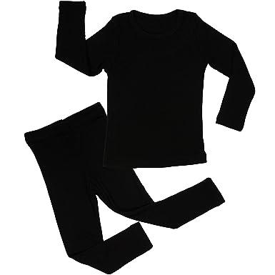 663be0d6d8a3 Amazon.com  AVAUMA Baby Boy Girl Long Short Sleeve Pajama Set Snug ...