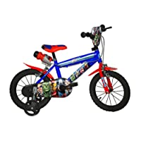 Dino Bikes 414 U-AV Vélo Garçon  Avengers 14 Pouces - 4 à 6 Ans