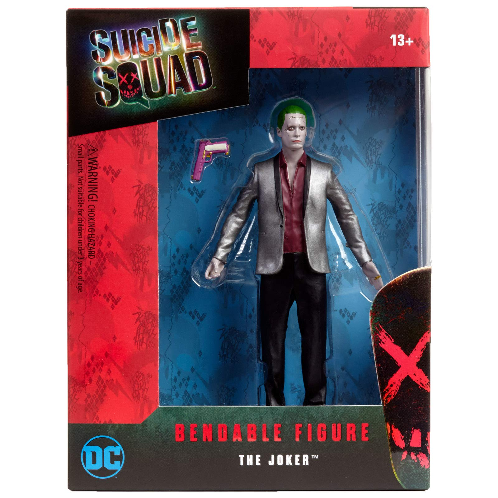 NJ Croce Suicide Squad Movie Joker Bendable Figure, Multi Color (6-inch) product image