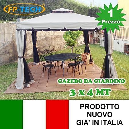 fp-tech fp-yx2214 – 3 x 4 Cenador de jardín: Amazon.es: Bricolaje ...