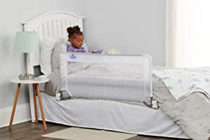 Regalo Guardian Swing Down Single Bed Rail, White, 43 x 20 Inch