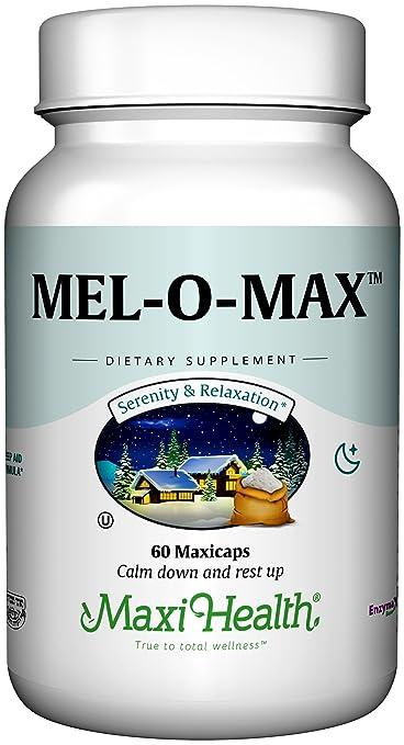 Maxi Health Mel-O-Max - Melatonin - with Valerian Root - Sleep Aid