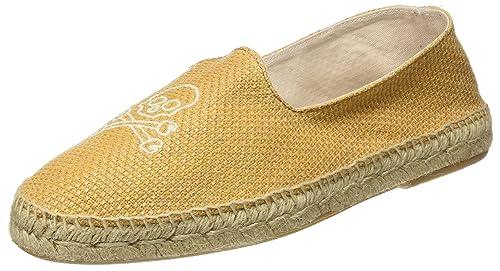 Scalpers Skull Espadrilles, Alpargatas para Hombre, Yellow, 44 EU: Amazon.es: Zapatos y complementos