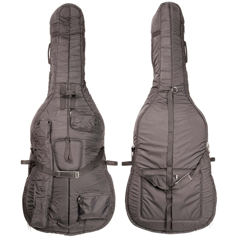 Bobelock 3/4 Upright String Double Bass Soft Bag - Black BHBU0503A344
