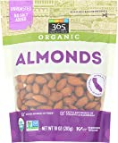 365 Everyday Value, Organic Almonds, 10 oz