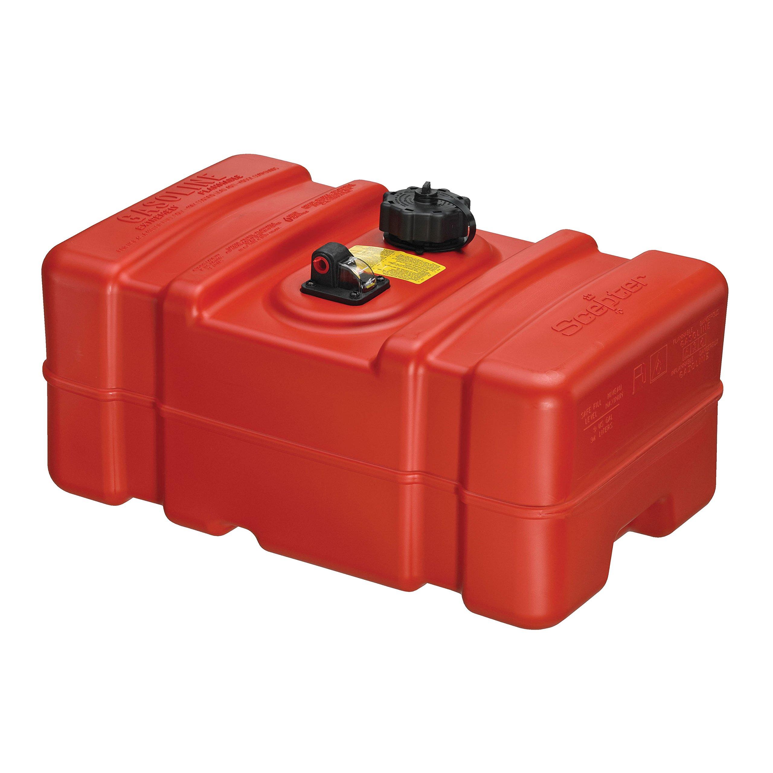 Scepter 08667 Rectangular Fuel Tank - 9 Gallon