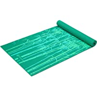 "Gaiam Yoga Mat - Classic 4mm Print Exercise & Fitness Mat for All Types of Yoga, Pilates & Floor Exercises (68"" x 24"" x 4mm Thick)"