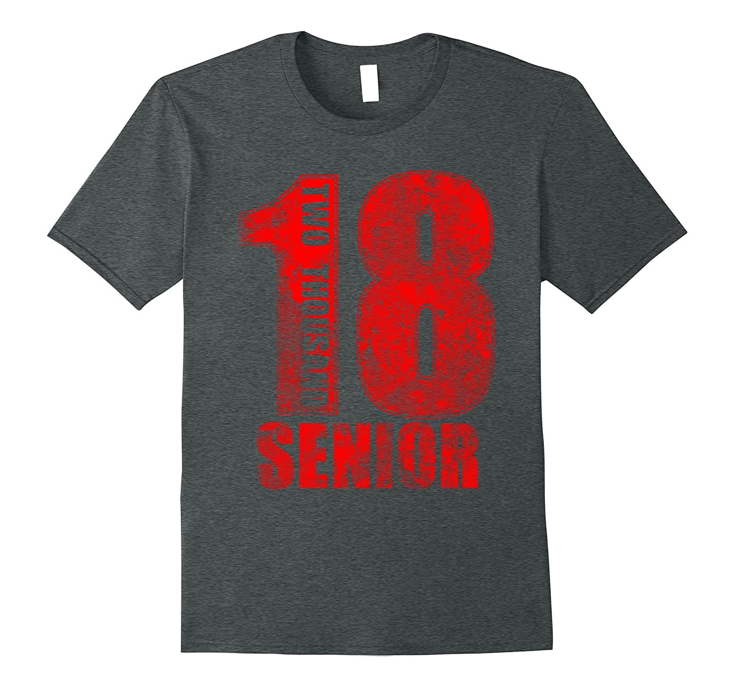 Class of 2018 Red Senior T-Shirt-ANZ