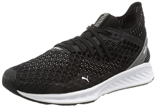 Ignite XT Netfit, Zapatillas de Cross para Hombre, Negro (Quiet Shade-Puma Black), 45 EU Puma