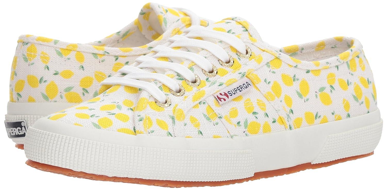 Superga Women's 2750 Linenfruitw Sneaker B0777P1WK1 41.5 M EU (10 US)|Lemon