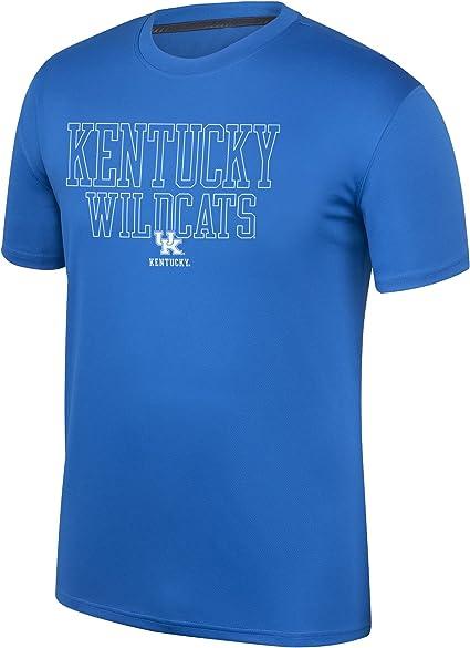 Black Heather J America NCAA Kentucky Wildcats Mens NCAA Mens Vintage Team Long Sleeve Tee Large