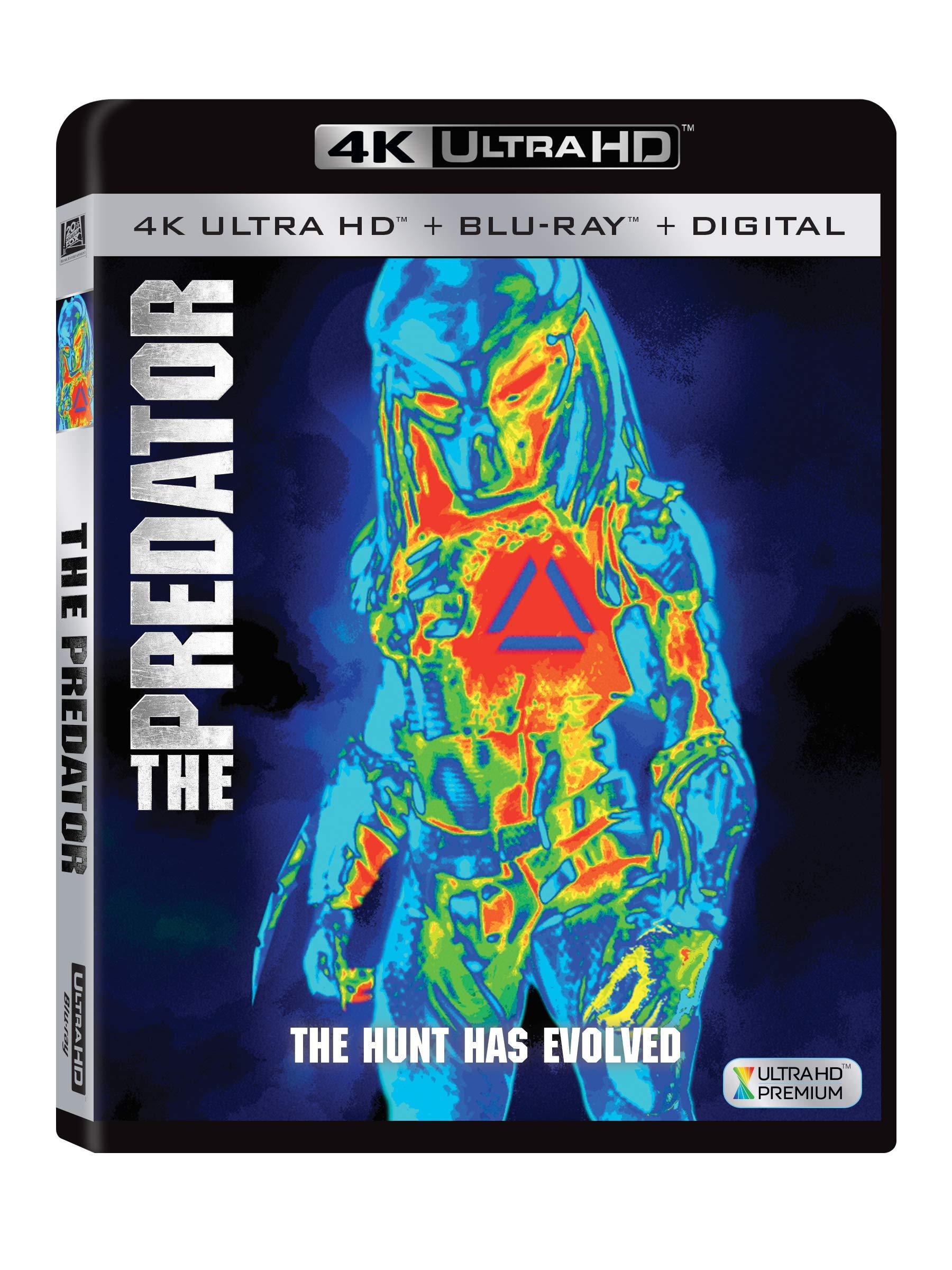 4K Blu-ray : The Predator (Digital Copy, Widescreen, Subtitled)