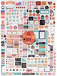 Amazon.com: Planner Stickers Value Pack, Monthly Weekly ...