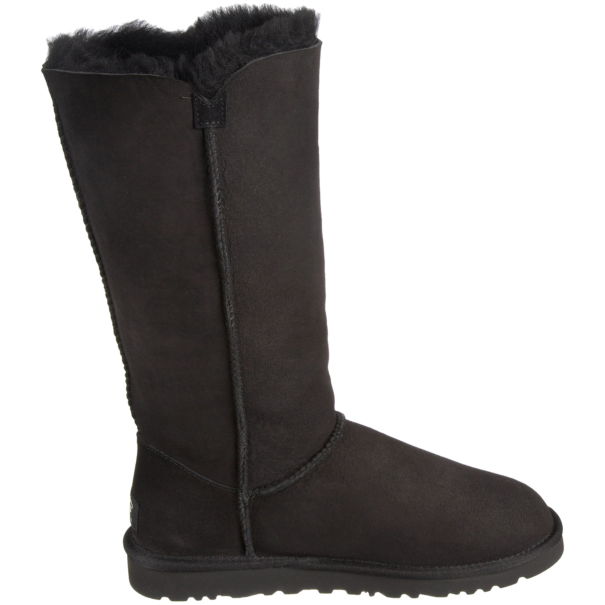Ugg Women's Bailey Button Triplet Boot, Black, 6 M US by UGG (Image #7)