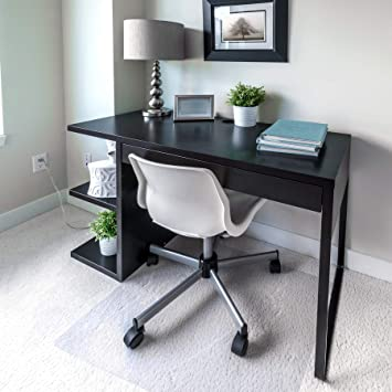 Floortex Cleartex Ultimat Chair Mat for Plush Pile Carpets 35 x 47 Clear