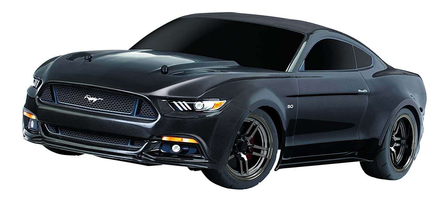Traxxas Automobile Electric Awd Ford Mustang Gt Race Car Business Industrial Electrical Test Equipment Motors With Tq 24ghz Remote Control Black Size 1 10 Toys Games