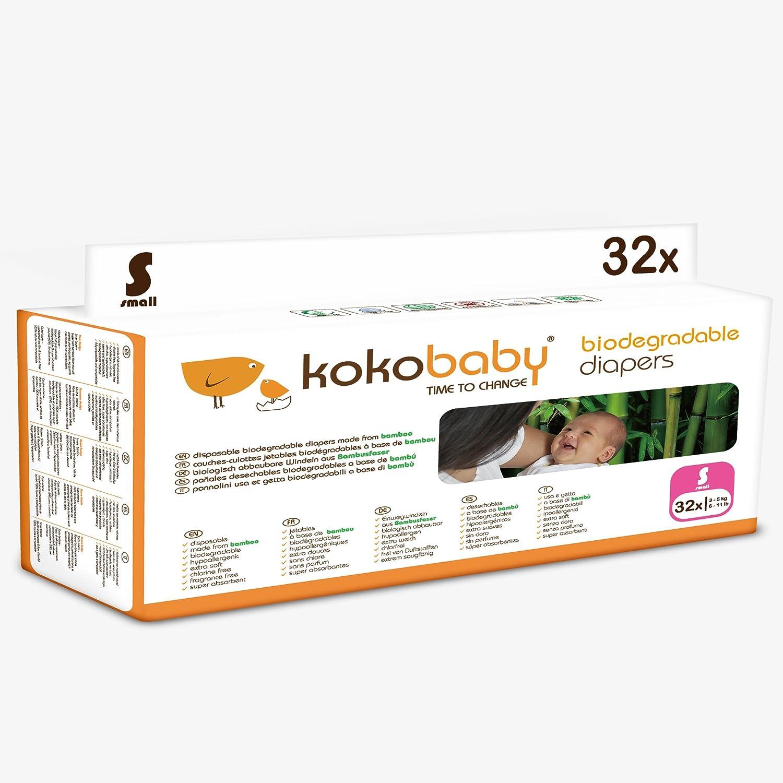 Kokobaby pañales ecológicos de bambú sin cloro