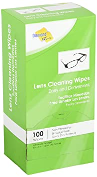 Review Premoistened Lens and Glass