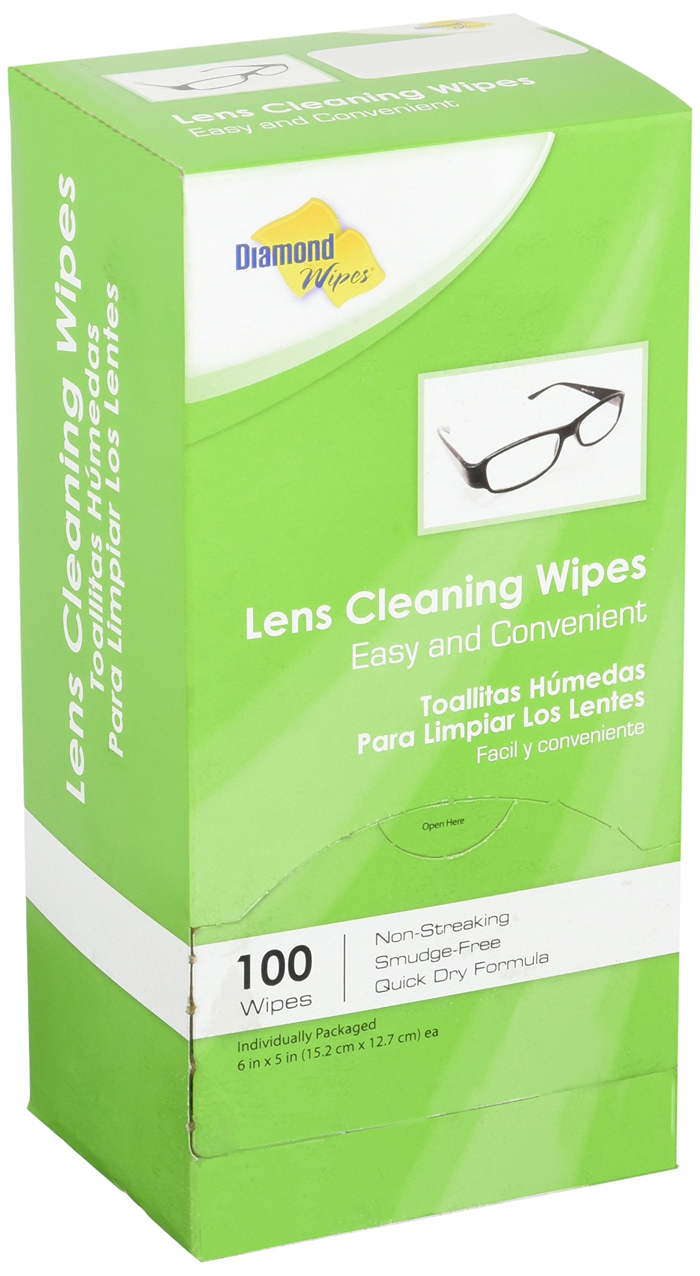 Premoistened Lens and Glass Cleaning Wipes: Portable Travel Cleaner for Glasses, Camera, Cell