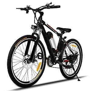 Aceshin 26 inch Adult Electric Mountain Bike